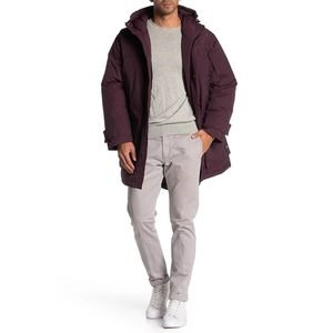 WeSC All Weather Parka Maroon Size XL New Hooded